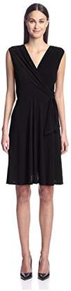 Society New York Women's Sleeveless Side Tie Dress