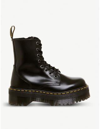 25f6efebf94641 Dr. Martens Jadon 8-eye leather platform boots