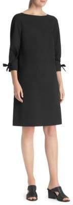 Lafayette 148 New York Paige Tie Sleeve Shift Dress