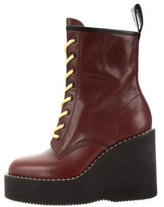 Sacai Platform Ankle Boots