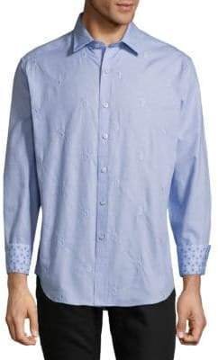 Robert Graham Embroidered Dress Shirt