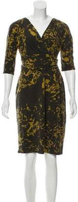 Max Mara Gathered Mini Dress