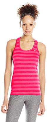 Champion Women's Vapor Stripe Tank $6.03 thestylecure.com