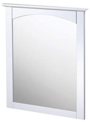 "Columbia Foremost CO2431 25"" Wood Framed Bathroom Mirror"