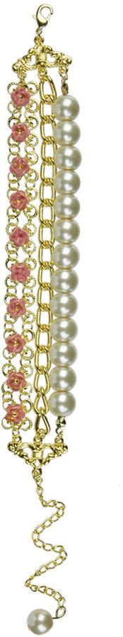 Rosy Trio Bracelet