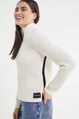 Calvin Klein Jeans Half-Zip Pullover Sweater