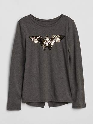 Gap GapKids | DC Wonder Woman Flippy Sequin T-Shirt
