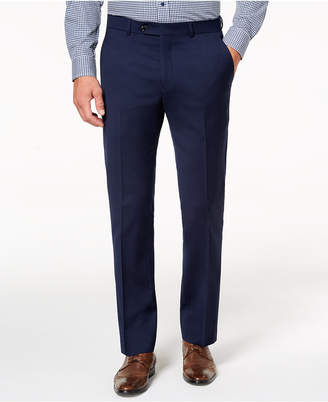 Tommy Hilfiger Men Modern-Fit Th Flex Stretch Navy Twill Suit Pants