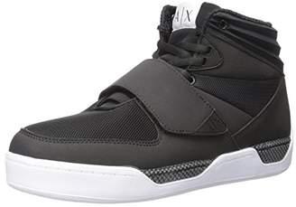 Armani Exchange A|X Men's Hi Top Fashion Sneaker