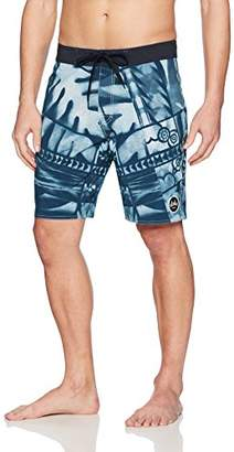 RVCA Young Men's Ancell Flora Trunk Shorts