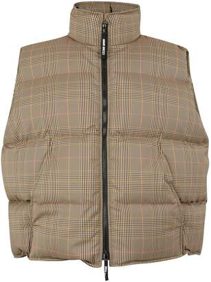 Nina Ricci Checked jacket in stretch fabric