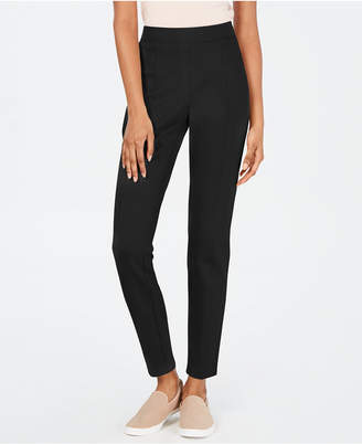 Style&Co. Style & Co Curvy Seamed Ponte-Knit Pants