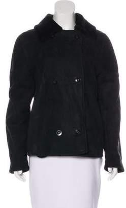 Loro Piana Leather Collar Jacket