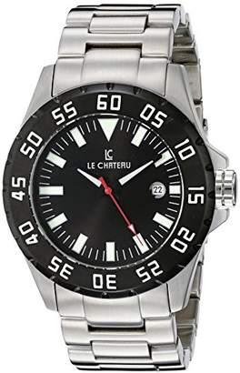 Le Chateau Men's 7075mssmet_blk Dynamo Automatic See-Thru Watch