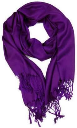 6th Borough Boutique Purple Pashmina Scarf