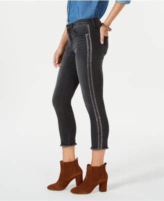 Style&Co. Style & Co Petite Double-Stripe Skinny Jeans, Created for Macy's