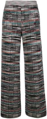 Missoni knitted flared trousers