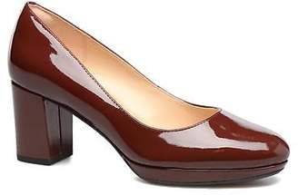 Clarks Women's Kelda Hope Rounded toe High Heels in Brown