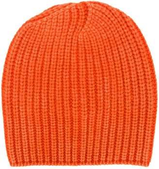 Iris von Arnim jersey knit beanie hat