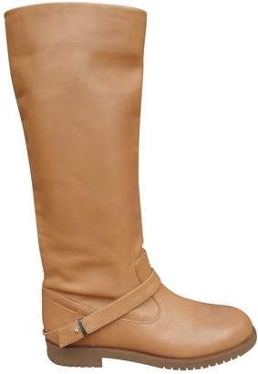 Jil Sander Leather riding boots