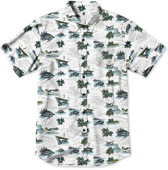Element Men's Wendell Printed Poplin Shirt