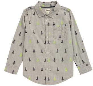 Hatley Rocket Ships Button-Up Shirt