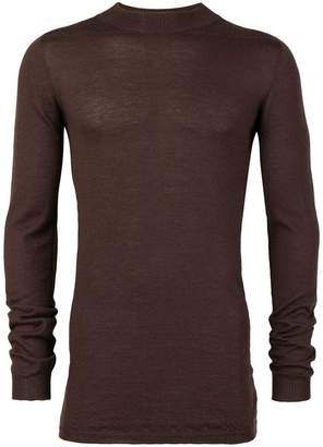 Rick Owens ribbed slim-fit jumper