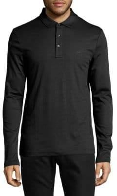 Michael Kors Long Sleeve Polo