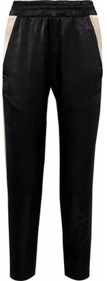 Koral Deception Cropped Coated Jersey Track Pants