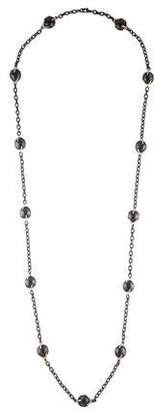 Gurhan Ball Station Chain Necklace