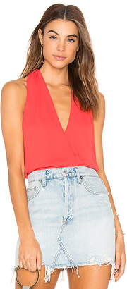 Krisa Surplice Tank Top