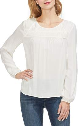 Vince Camuto Smock Neck Top