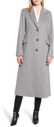Fleurette Modern Loro Piana Wool Reefer Coat