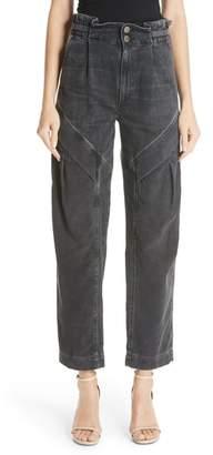 Atelier Jean Gemma Cinch Waist Jeans