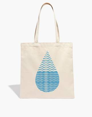 Madewell x charity: water Reusable Canvas Tote Bag
