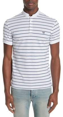 The Kooples Stripe Officer Polo Shirt