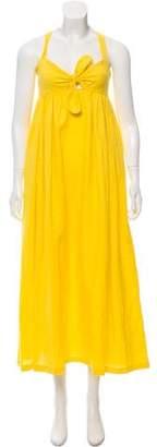 Mara Hoffman Linen Maxi Dress
