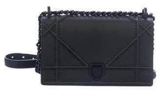 Christian Dior 2018 Small Diorama Ultra Black Bag