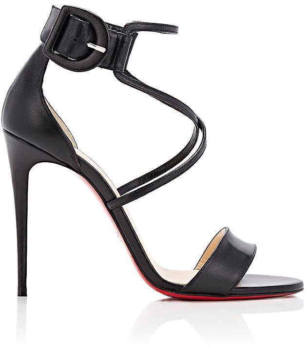 Christian Louboutin Women's Choca Leather Sandals
