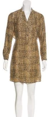 Mara Hoffman Animal Print Silk Dress