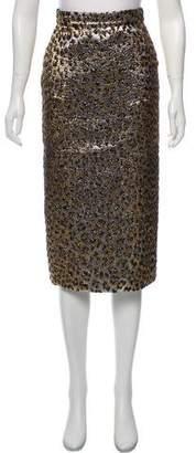Gucci 2017 Jacquard Skirt