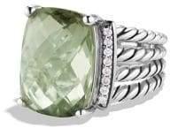 David Yurman Wheaton Gemstone& Diamond Ring