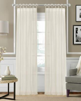 Elrene Greta Crushed Semi-Sheer Window Curtain Panel