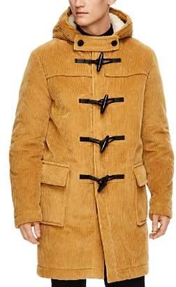 Sandro University Hooded Toggle Coat