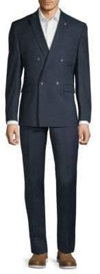 Original Penguin Slim-Fit Textured Suit