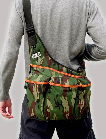 Apeainthepod The Diaper Dude Messenger Bag In Camo