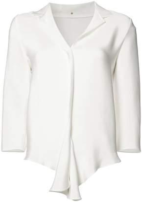 Peter Cohen flounce hem blouse