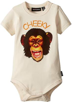 Rock Your Baby Cheeky Monkey Short Sleeve Bodysuit Boy's Jumpsuit & Rompers One Piece
