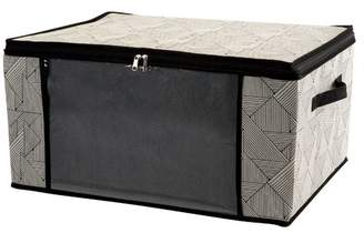 Wrought Studio Natural Jumbo Fabric Underbed Storage