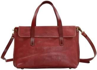 EAZO - Soft Leather Crossbody Bag In Wine